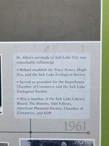 Some of Dr. Allen's accomplishments