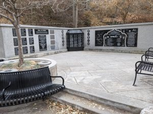 One of the memorials