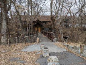 A bridge over Emigration Creek